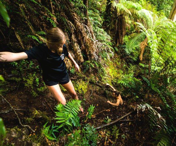 Exploring Triplet Falls