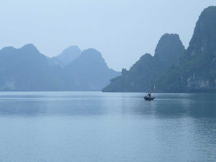 Motorcycle Touring in Vietnam - Halong Bay
