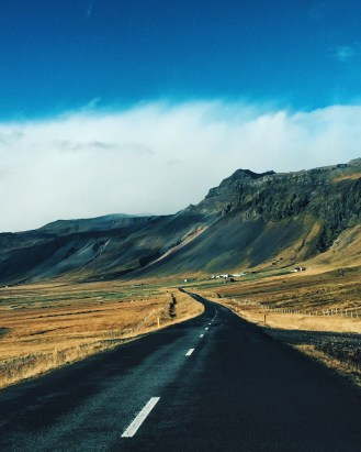 Road to West Iceland