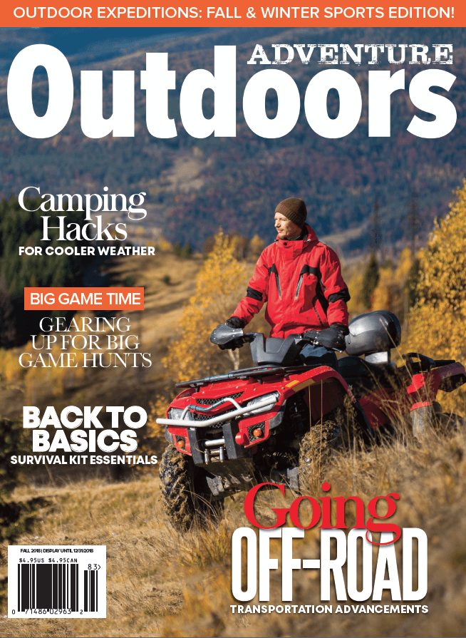 Adventure Outdoors Magazine Fall 2018