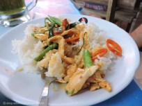 Micah's lunch in Phuket, listed on the menu as Thai curry. It was also really good, and not as spicy as I was expecting!