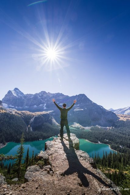 I am the one, Alpine circuit trail, Lake O'Hara