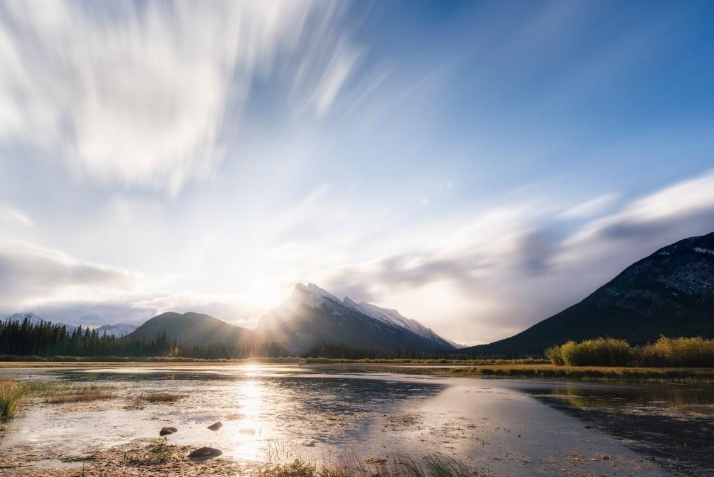 Breakthrough, Vermilion Lakes, Banff National Park