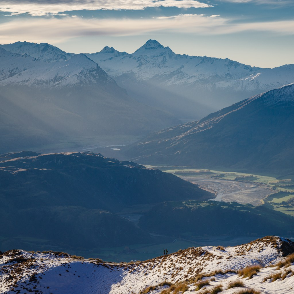 Mount. Aspiring view from Roys Peak