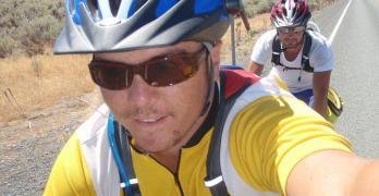 Crash and Floods when Biking the KATY – Bike Across America Day 51