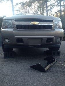 Front tow hitch