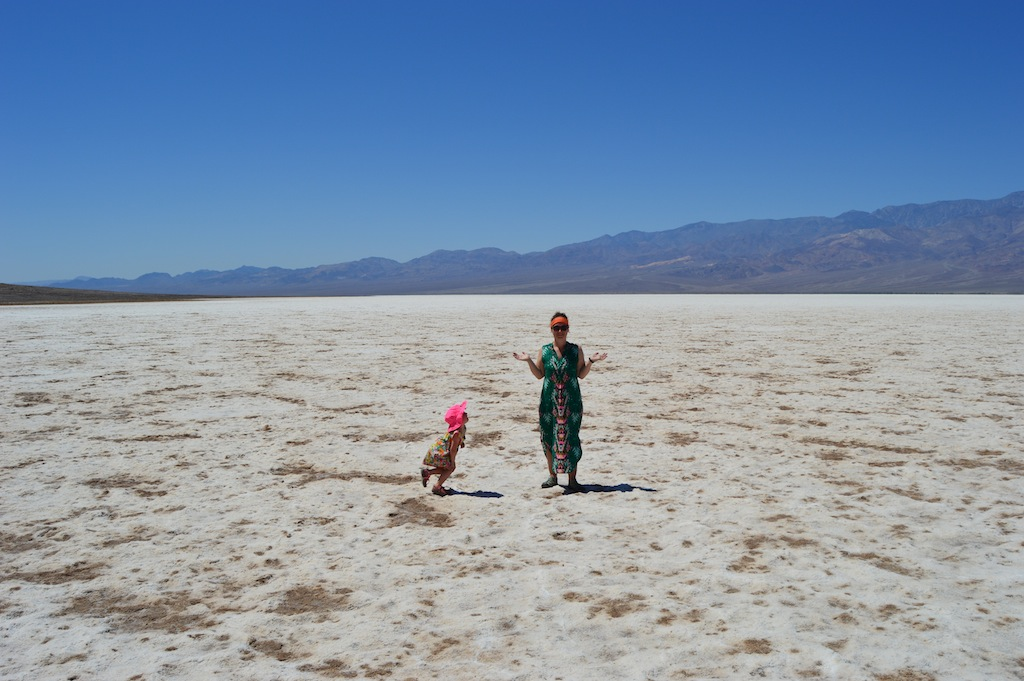 Tantrum in Badwater Basin