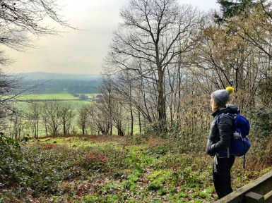North Downs - me & view