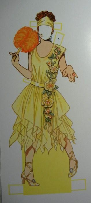 Vintage paper dolls. Ellen Lindner, AdventureQuilter.com/blog