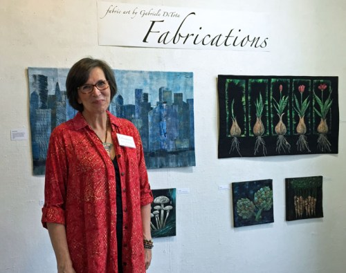 Gabriele DiTota: Fabrications. Ellen Lindner, AdventureQuilter.com/blog