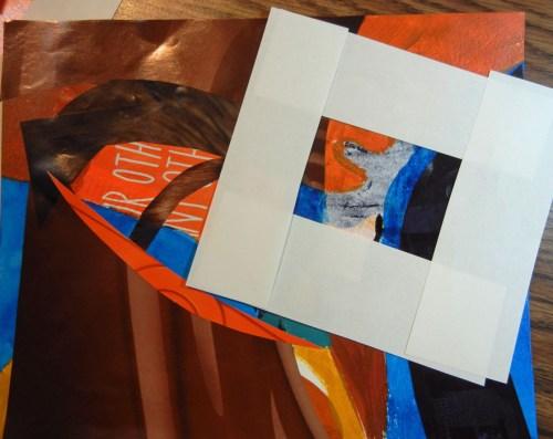 Learning about abstract design. Ellen Lindner, AdventureQuilter.com/blog
