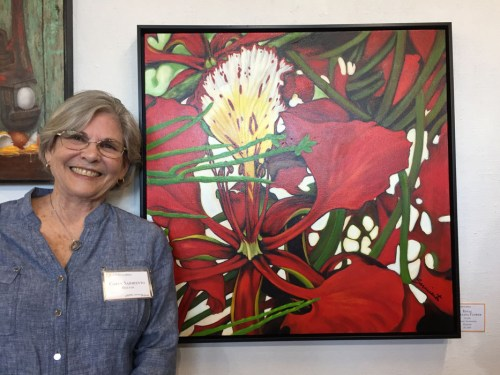 Opening Night: 100% Pure Florida Exhibit. Ellen Lindner, AdventureQuilter.com/blog