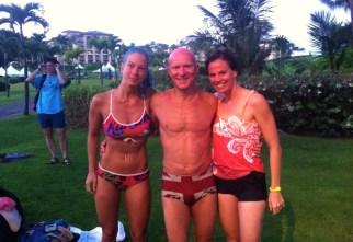 Früh morgens Hawaiian Blessing mit Christina & Sara