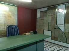 "The bunker ""map room"""