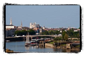 El Loira a su paso por Nantes