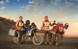 Simon y Lisa Thomas en Mongolia