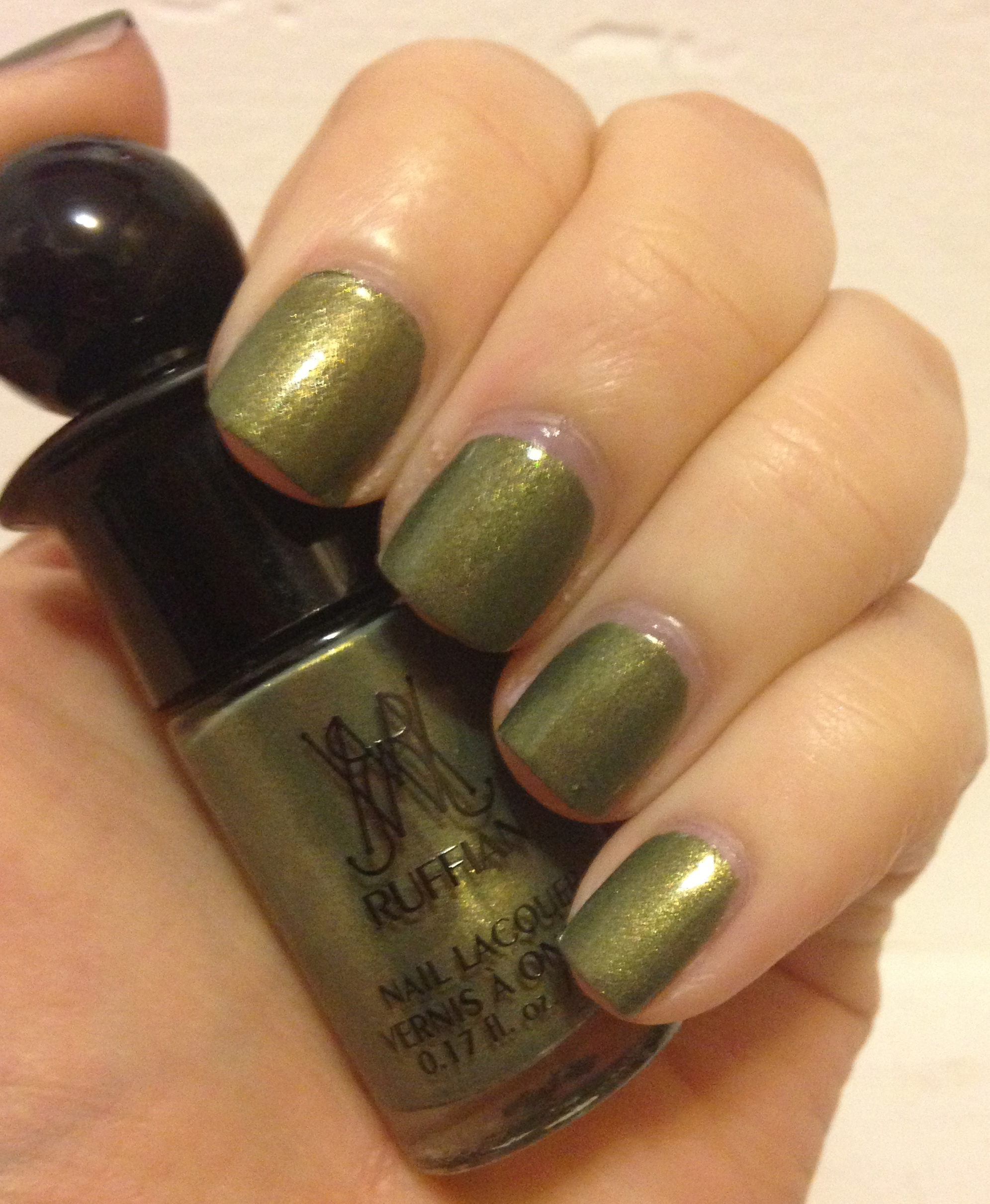 Ruffian nail lacquer in hedge fund from the crowdsourced this green beauty is hedge fund from the crowdsourced collection hedge fund is an army green metallic polish with a gorgeous gold shimmer prinsesfo Images