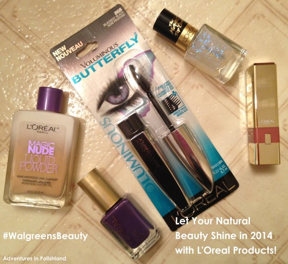 Let Your Natural Beauty Shine in 2014 with L'Oreal Products! WalgreensBeauty #shop #cbias