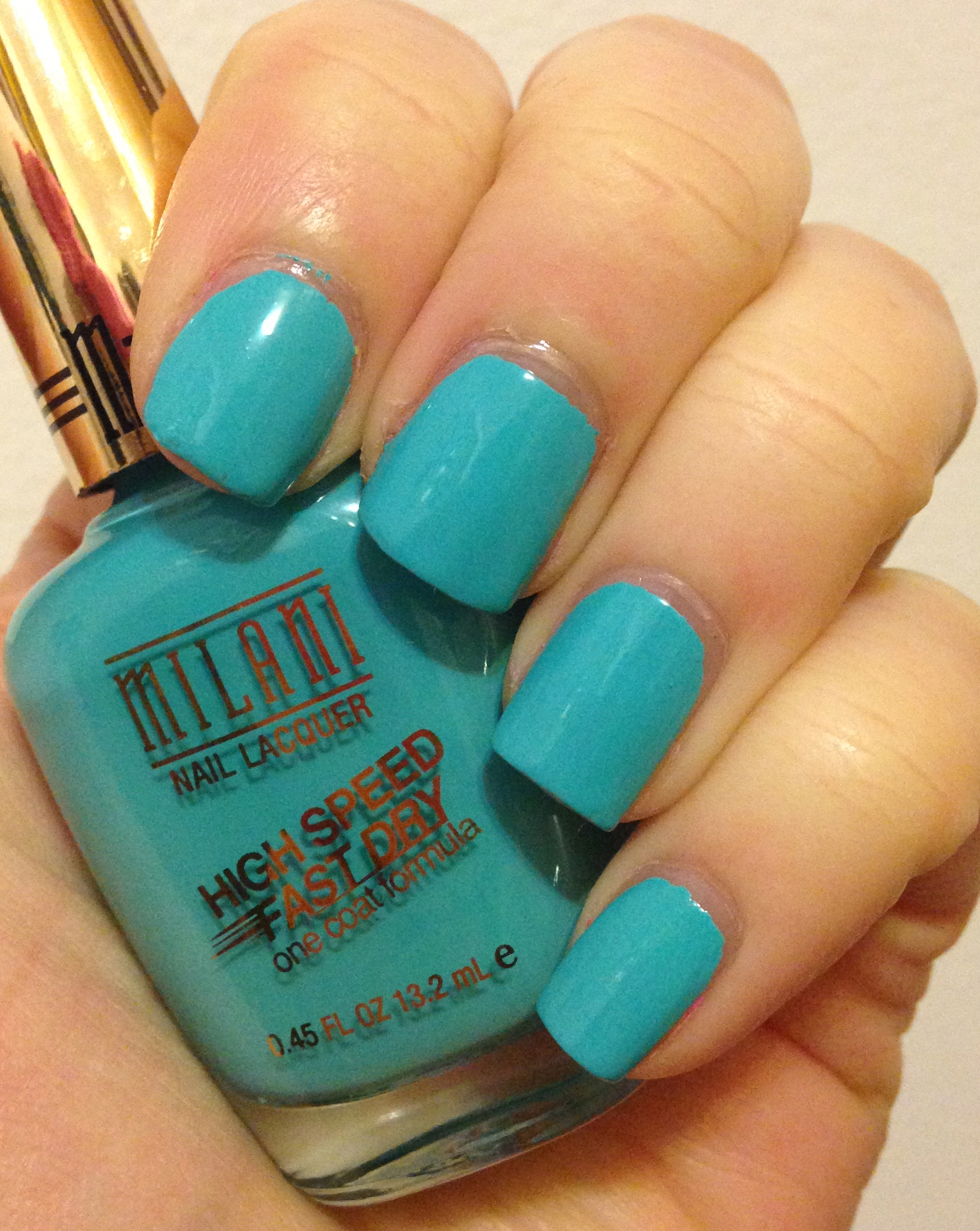 New Milani High Speed Fast Dry Nail Lacquer for 2014 – Adventures in ...