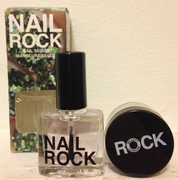 Nail Rock Sequin Kit in Green