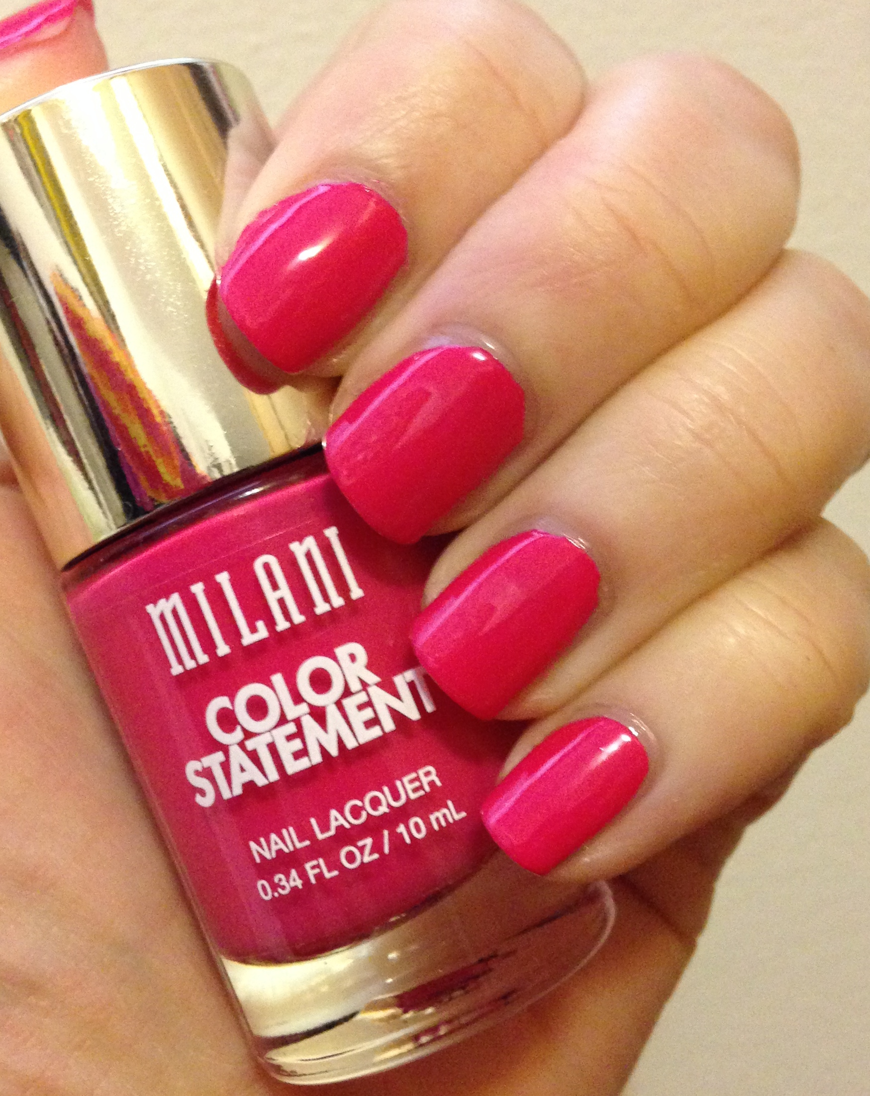 Milani Color Statement Nail Lacquer   Favorites & Final Thoughts ...