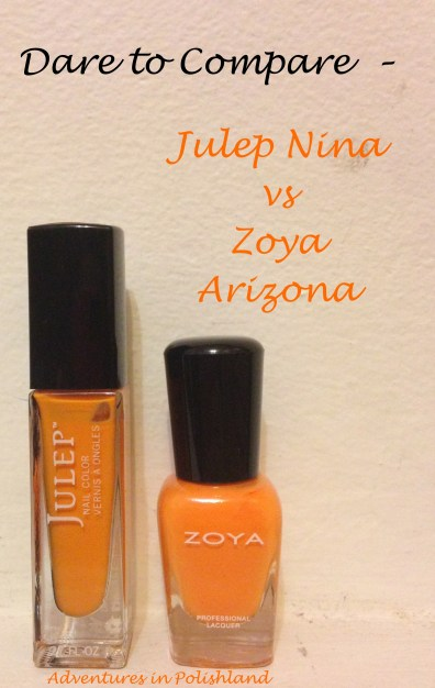 Dare to Compare | Julep Nina vs Zoya Arizona