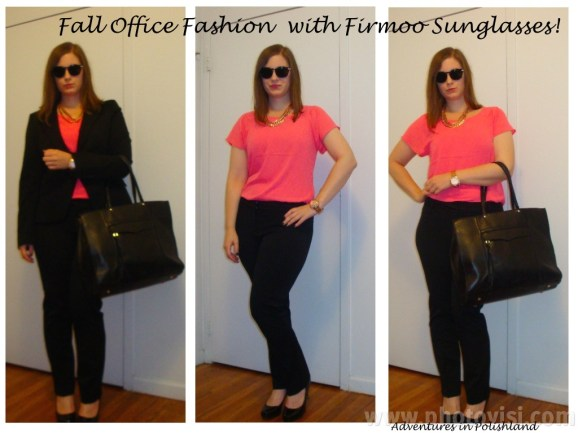 Fall Office Fashion with Firmoo Sunglasses! | Adventures in Polishland
