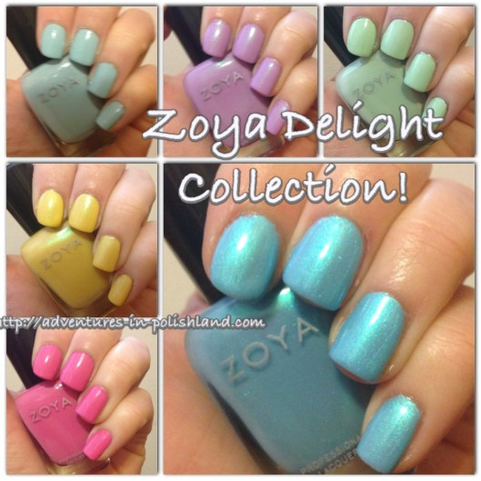 Zoya Delight Collection | Adventures in Polishland