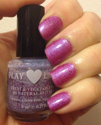 Play Laugh Love Natural Peel Off Polish Review