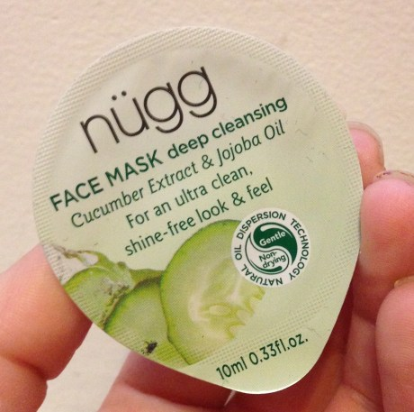 nügg FACE MASK Deep Cleansing Review