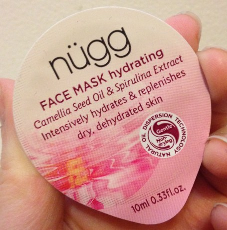 nügg FACE MASK Hydrating Review
