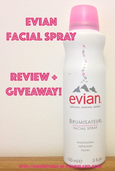 Evian Facial Spray | Review + Giveaway