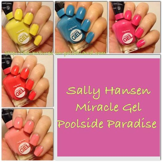 Sally Hansen Miracle Gel | Poolside Paradise Collection