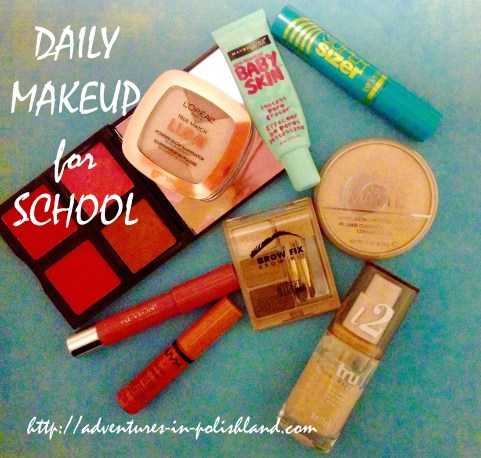 Back to School Week | Daily Makeup for School