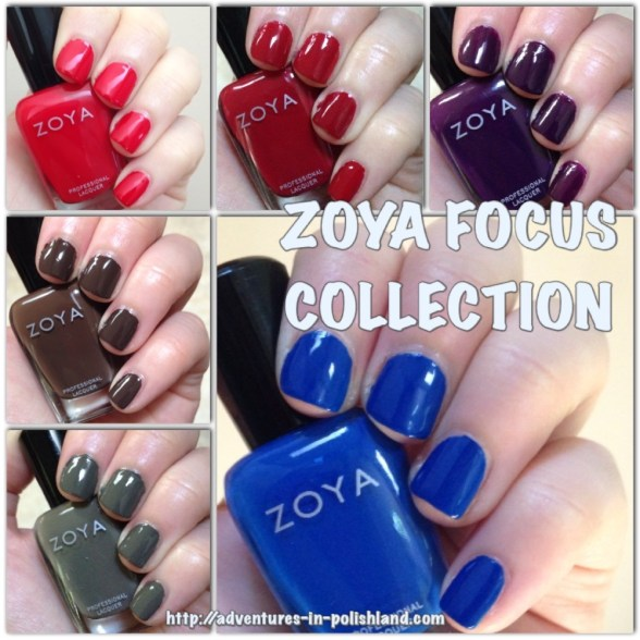 Zoya Focus Collection for Fall 2015