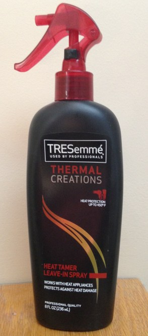 My Current Hair Care Favorites | TRESemmé Thermal Creations Heat Tamer Spray