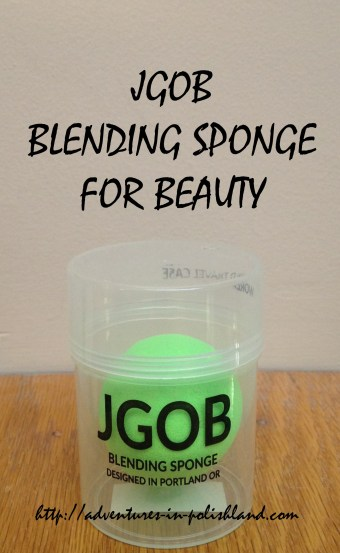 JGOB Blending Sponge for Beauty   Review + Giveaway