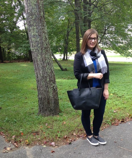 Fall Fashion featuring Beautiful Scarves | Dressy Casual Day Outfit