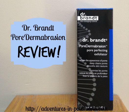 Dr. Brandt PoreDermabrasion Review
