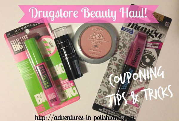 Drugstore Beauty Haul  Couponing Tips & Tricks