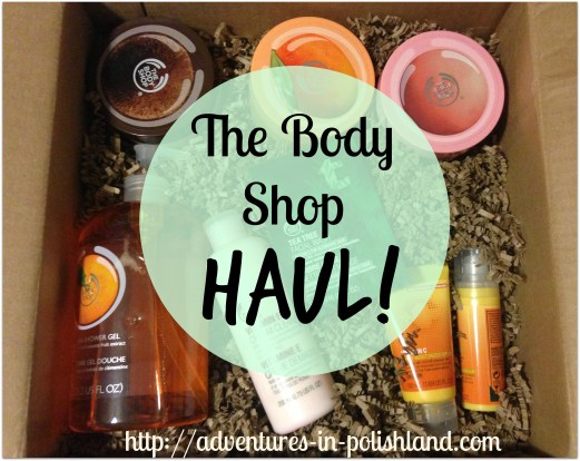 The Body Shop Haul Skincare, Scrubs, & More!
