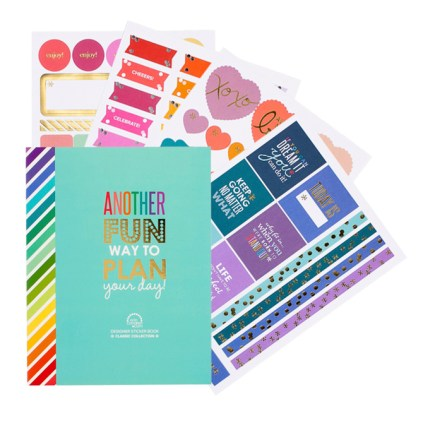 Erin Condren Designer Sticker Book