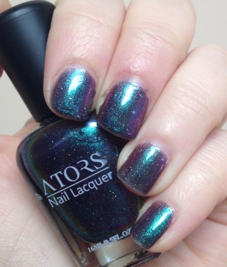 ATORS Holographic Polish in Shiny Blue