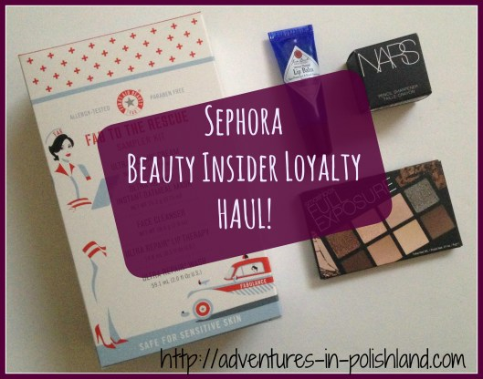 Sephora Beauty Insider Loyalty Haul | First Aid Beauty, Smashbox, & More!