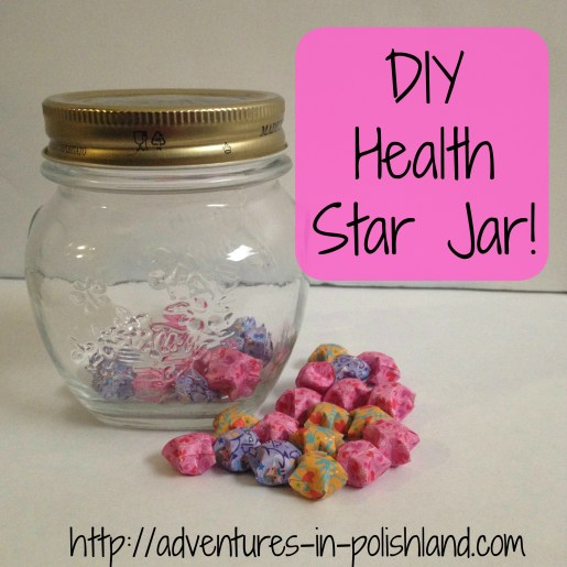 Visualize Your Health Goals with a DIY Star Jar!
