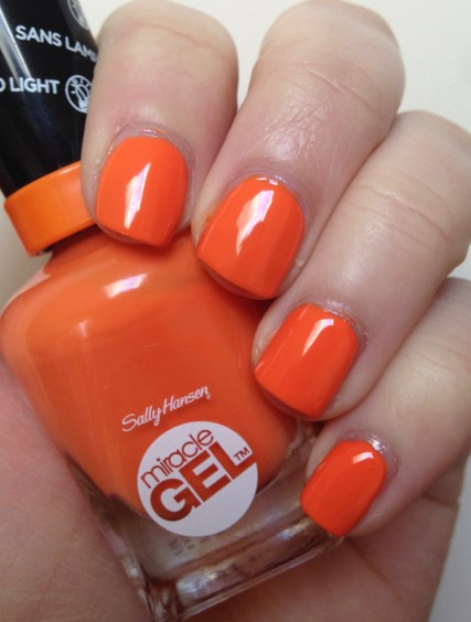Sally Hansen Miracle Gel – Electra-cute