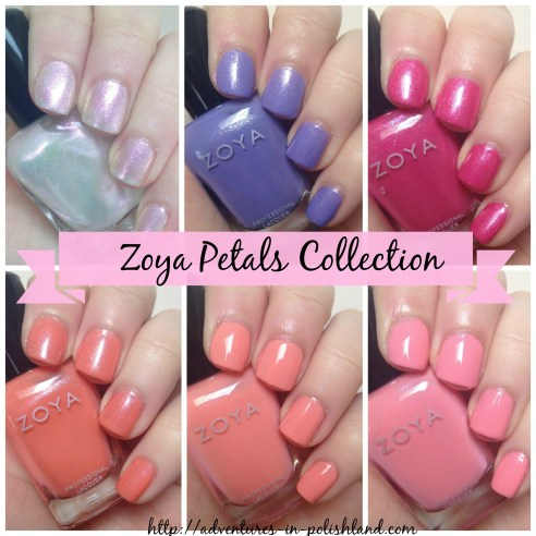 Zoya Petals Collection | Spring 2016