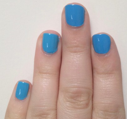 Julep Claire vs Sally Hansen Miracle Gel Rhythm & Blue