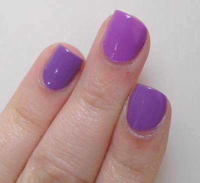 Milani Imperial Purple vs Essie Play Date vs Chrome Girl 2Gether Forevs