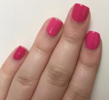 Dare to Compare   Comparing 4 Bright Pink Nail Polishes